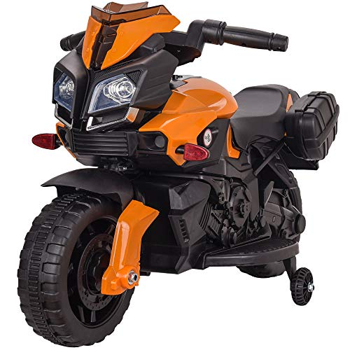 Rip-X 'My First' Kids Motorbike Electric 6V Ride On Toy - Suitable For 3 to 5 Years - Choice of Colours (Orange)