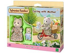 SYLVANIAN FAMILIES Sylvanian Families-4281 Pedaleando con mamá, Color Assorted Colours (Epoch para Imaginar 2236)