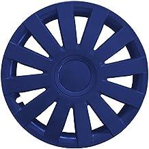 (Farbe & Größe wählbar) 4er Set 13 Zoll AGA Schwarz-Blau Radkappen Radzierblenden Radabdeckungen (universal)
