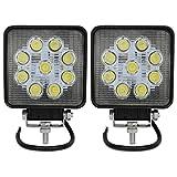 VINGO® 2X 27W Arbeitsscheinwerfer LED 12v...