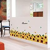 JIAER Blume Baseboard Wandaufkleber Küche Glastüren Und Windows Kunst Hintergrund Dekoration Wandtattoo Wandbild