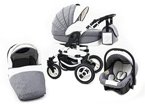 Tabbi Kinderwagen 3-in-1  ECO LN  im Test