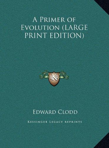 A Primer of Evolution