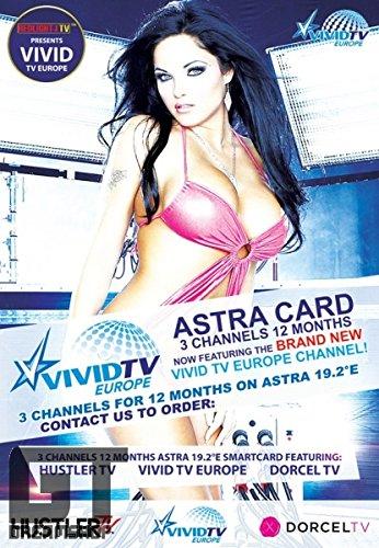 Hustler TV / Dorcel TV / VIVID TV ASTRA 19,2° Viaccess Karte 12 Monate inkl. Viaccess CI-Modul