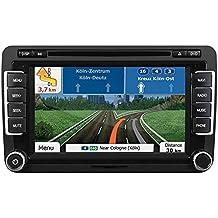 "ESX Naviceiver VN710 VW-P1 Bluetooth 7"" Touchscreen iGo Navigation für Leon 1P 2005-2012"