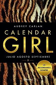 Calendar Girl 3 par Audrey Carlan