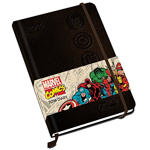 The Official Marvel Comics (A5) 2016 Diary por Danilo