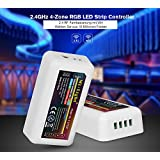 Mi de Light® 4de zona RGB Controlador Wifi 2,4ghz LED Regulador (RGBW RGB + Blanco) Luz Tira LED Bombilla bandas bandas funcionalidad Ajustar Color
