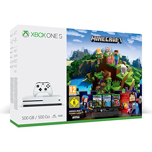 Xbox One S 500GB Konsole - Minecraft Complete Adventure