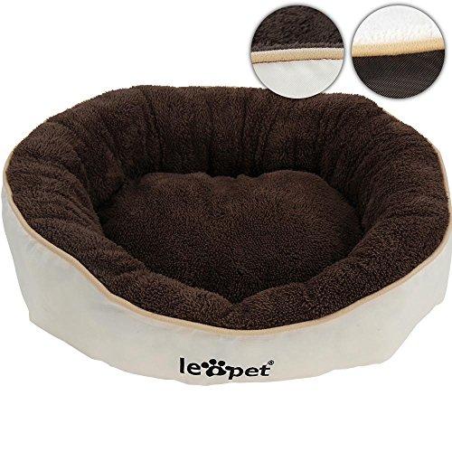 katzeninfo24.de Leopet Tierbett Hundebett Katzenbett in 2 verschiedenen Farben und 4 verschiedenen Größen