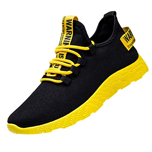 Innerternet Laufschuhe Herren Turnschuhe Sportschuhe Straßenlaufschuhe Sneaker Atmungsaktiv rutschfest Trainer für Running Fitness Gym Outdoor Arbeitsschuhe Tourist Shoes Leisure Sports Geox Trainer