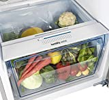 Panasonic 307 L 3 Star Inverter Frost-Free Double-Door Refrigerator (NR-BG311VSS3, Shining Silver)
