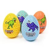 Newin Star Dinosaur Hatching Egg Simulation Dinosaur Animal Model Surprise Toy for Kids Children Educational Toys