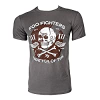 Foo Fighters Matter of Time T Shirt (Grey) - Medium