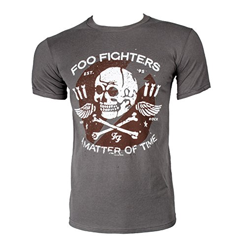 T shirt dei foo fighters matter of time (grigio) - small