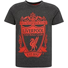 Liverpool FC Crest Kids – Camiseta, charcoal, ...