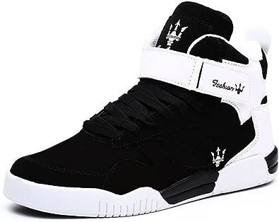 MUOU Uomo Sneaker Scarpe da Corsa Scarpe da Ginnastica Uomo Sportive Fitness Running Casual Nero