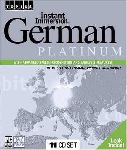 Instant Immersion German Platinum