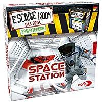 Noris Spiele 606101642 Escape Room Erweiterung Space Station, Nur Mit Chrono Decoder Spielbar