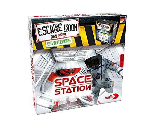 Noris 606101642 Escape Room Erweiterung Space Station, nur mit dem  Chrono Decoder Spielbar