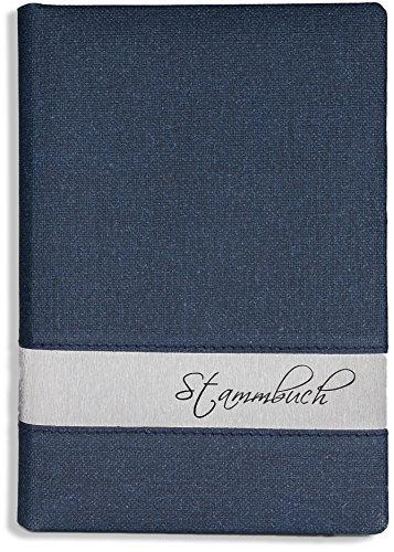 Stammbuch der Familie -Lumine-, blau, Silber, Familienstammbuch, Stammbücher