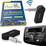 Motopanda Maruti Suzuki Swift Car Bluetooth Connector Kit Player Wireless Car Bluetooth Adapter with 3.5mm Jack Aux Cable