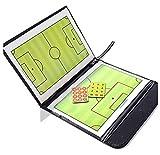 A-NAM magnetische Taktiktafel für Fußball mit einem 2in 1Schreib-Wisch-Stift