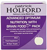 Patrick Holford Advanced Pack with Brain Food 56 Blister Strips