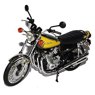 Kawasaki 900 Super 4 Z1 Gelb Braun 1/12 Automaxx Modell Motorrad Modell Auto