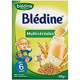 Blédina blédine multicéréales 500g dès 6 mois - ( Prix Unitaire ) - Envoi Rapide Et Soignée