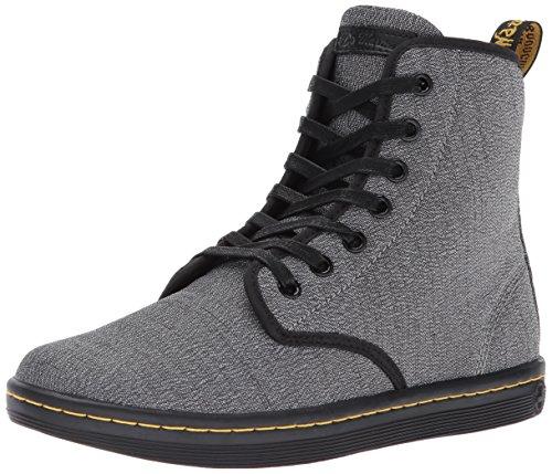 Dr. Martens Damen Shoreditch Mid Grey Serge Sneaker, Grau, 43 EU