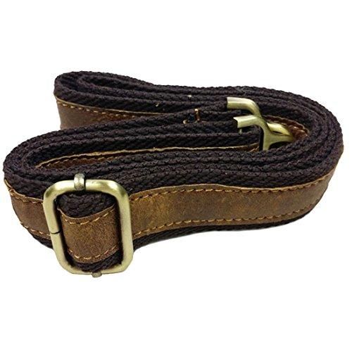 BAIGIO Herren Vintage Messenger Bags Freizeit Ledertasche Echt Leder Schultertasche Aktentasche Lehrertasche Unitasche Umhängetasche Tasche,Grün Braun