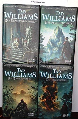 Der Drachenbeinthron + Der Abschiedsstein + Die Nornenkönigin + Der Engelsturm, gebundene Ausgabe (Konvolut Band 1 - Band 4) siehe org. Bild