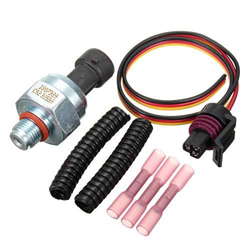 ChaRLes Powerstroke Öl-Einspritz-Steuer Drucksensor Mit Steckverbinder-Kit Für Ford E-350 450 550 F750 (Ford F450 Zubehör)