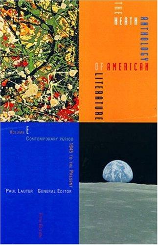 heath-anthology-of-american-literature-v-e