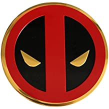 Extreme Classic DEADPOOL Icon On Gold, Official Marvel Comics Original Licensed Artwork, 8cm - Sticker DECAL