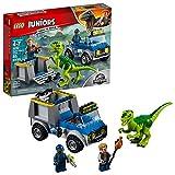 LEGO Juniors Jurassic World 10757 Raptor Rescue Truck 85-Piece Building Kit