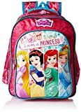 Disney Princess Pink School Bag for Children of Age Group 6-8 years | Size 16 inch