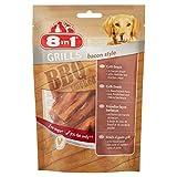 Barbacoa 8 en 1 8 en 1 para Perros con diseño de Animales y Haz, para Perros de 80 g - Juego de 4 para Perros