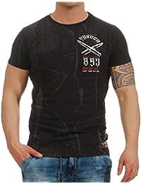 Yakuza Hombres Ropa Superior/Camiseta Blaze N Glory