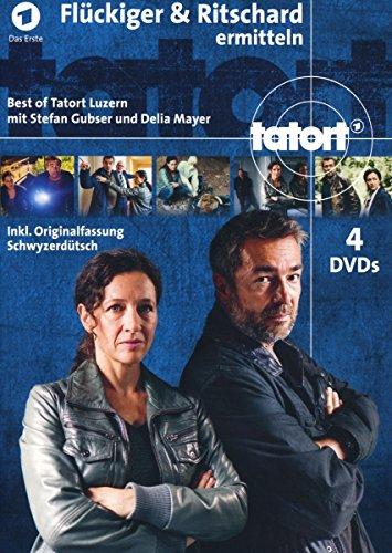 Tatort Luzern - Flückiger & Ritschard ermitteln (5 DVDs)