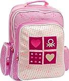 Fashion Benetton Ergonomic School Rucksack Backpack Benetton Pink Total