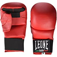 Leone - Guantes para kárate y fit box, color azul rojo Talla:Large