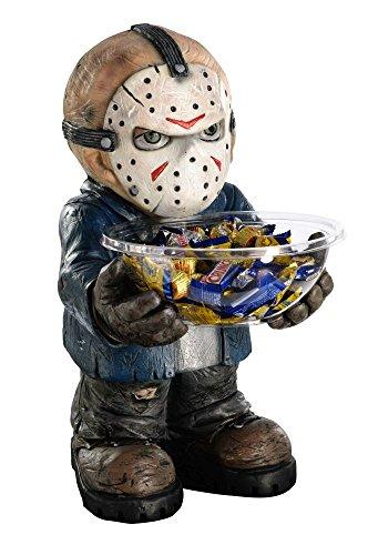 (Rubie's Freitag der 13. Bonbonhalter Jason Figur mit Schale Halloween Deko)