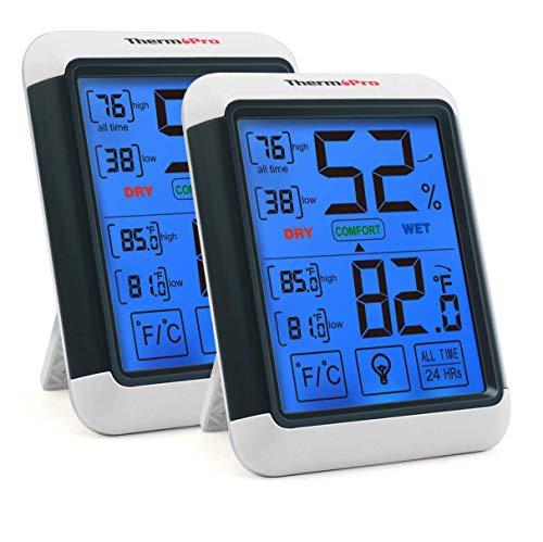 ThermoPro TP55 Thermomètre Hygromètre Numérique Jauges de Température Détecteur de Température...