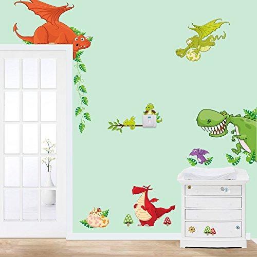 asenart-extraible-dragon-dinosaurios-vinilo-mural-art-adhesivo-de-pared-dibujos-animados-papel-pinta