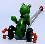 #10: Brand New,Wooden,Kids Developmental Toy Animal Pattern Baby Push Along Walker Toy