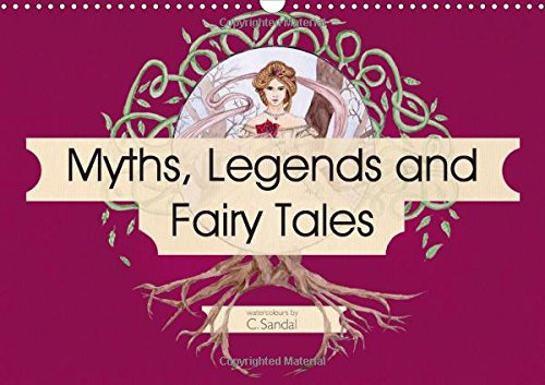 myths-legends-and-fairy-tales-2017-art-nouveau-inspired-watercolours-by-christine-sandal