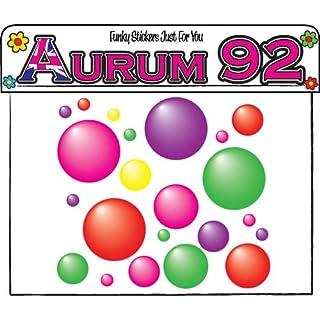 Aurum92 70+ Multi Coloured Bubbles - Sticker Pack
