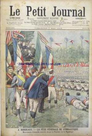 PETIT JOURNAL SUPPLEMENT ILLUSTRE (LE) [No 755] du 07/05/1905